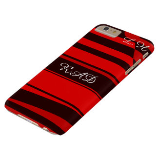 Daredevil red and black Emo punk Barely There iPhone 6 Plus Case