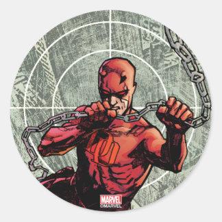Daredevil Senses Classic Round Sticker