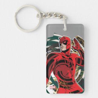 Daredevil Sensory Swirl Keychain