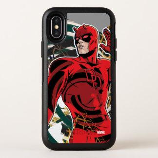 Daredevil Sensory Swirl OtterBox Symmetry iPhone X Case