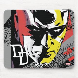 Daredevil Tri-Color Scaffolding Graphic Mouse Pad
