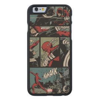 Daredevil Versus Bullseye Carved Maple iPhone 6 Slim Case