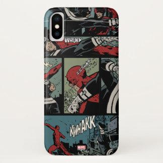 Daredevil Versus Bullseye iPhone X Case