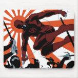 Daredevil Versus Ninjas Mousepads