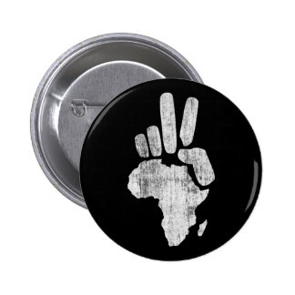darfur africa peace hand button