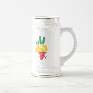 darfur africa peace hand coffee mug