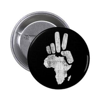 darfur africa peace hand pinback buttons