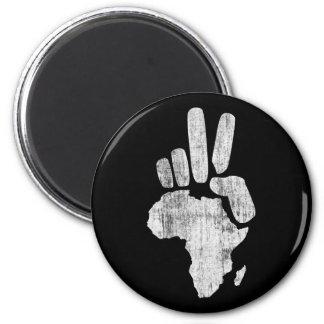 darfur africa peace hand refrigerator magnet