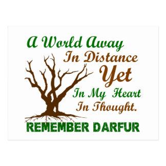 Darfur Awareness 2 Postcard