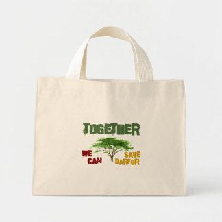 Darfur Awareness Mini Tote Bag