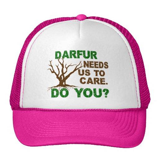 Darfur Awareness Trucker Hat