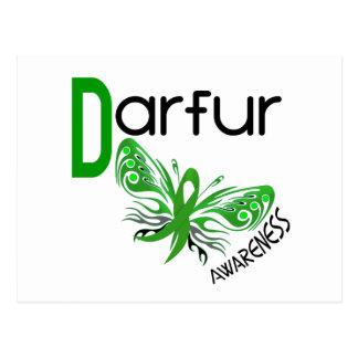 Darfur Butterfly 3 Postcard