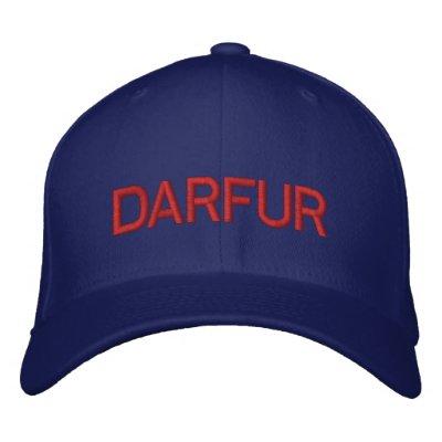 DARFUR EMBROIDERED BASEBALL CAP