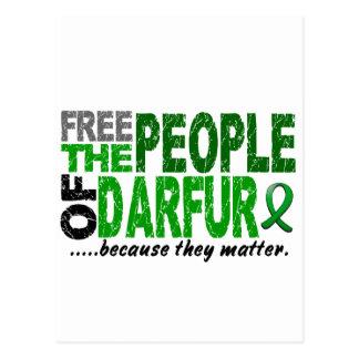 Darfur FREE THE PEOPLE Postcard