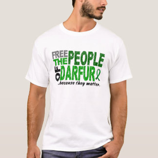 Darfur FREE THE PEOPLE T-Shirt