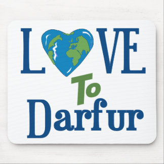 Darfur Heart 3 Mouse Pad