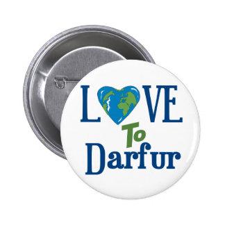 Darfur Heart 3 Pinback Button