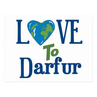 Darfur Heart 3 Postcard