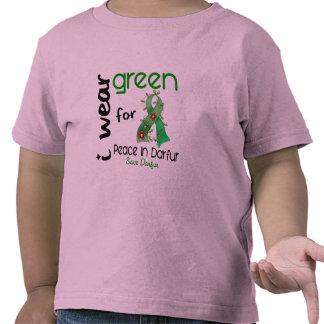 Darfur I WEAR GREEN FOR PEACE 43 Tee Shirts