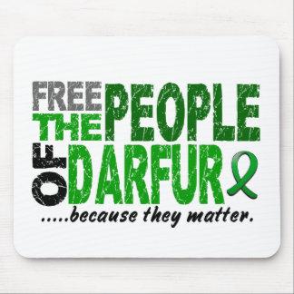 Darfur LIBERA a la GENTE Alfombrillas De Ratones