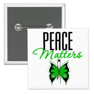 Darfur Peace Matters Button