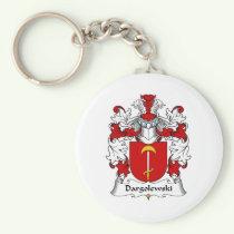Dargolewski Family Crest Keychain