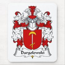 Dargolewski Family Crest Mousepad