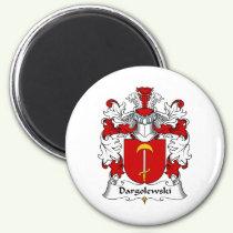 Dargolewski Family Crest Magnet