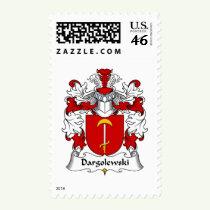 Dargolewski Family Crest Stamps