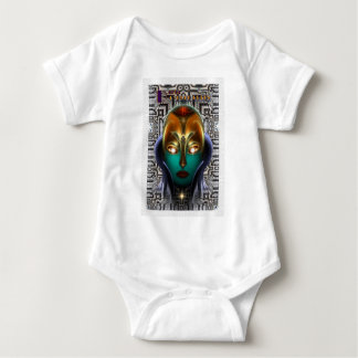 Daria Cyborg Queen Tech Baby Bodysuit
