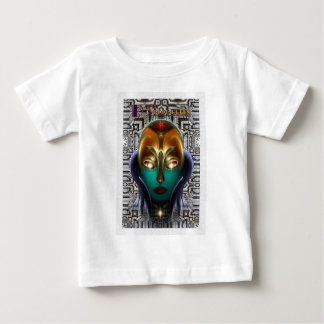 Daria Cyborg Queen Tech Baby T-Shirt