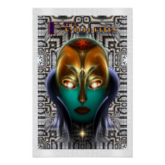 Daria Cyborg Queen Tech Perfect Poster