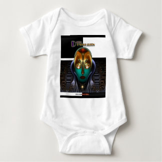 Daria Cyborg Queen The Rising Storm Baby Bodysuit