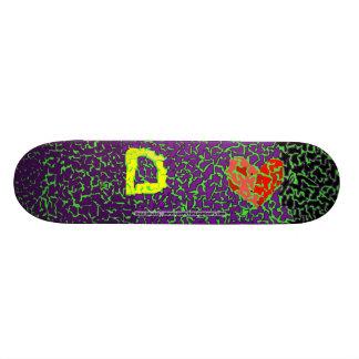 Daria Dlouchy Custom Skate Board