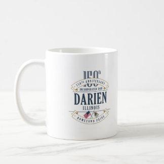 Darien, Illinois 150th Anniversary Mug
