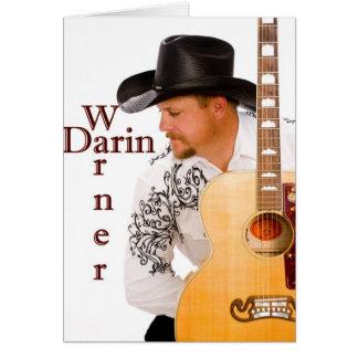 Darin Warner Classic Greeting Card