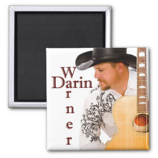 Darin Warner Classic Fridge Magnet
