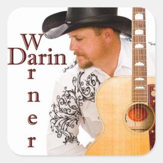Darin Warner Classic Square Stickers