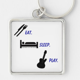 Darin Warner -eat. sleep. PLAY. Keychain