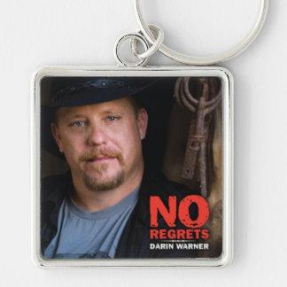 Darin Warner - NO REGRETS Keychain