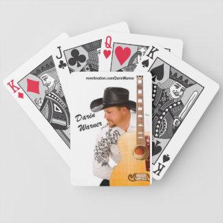 Darin Warner Winning Deck Bicycle Playing Cards