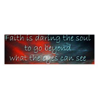 Daring Faith Profile Card