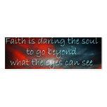 Daring Faith Profile Card Business Card Templates