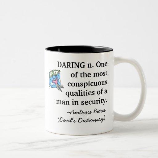Daring Golden Parachute Mug
