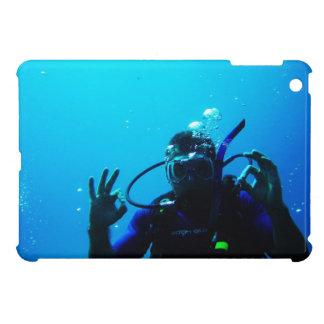 Daring Scuba Diver iPad Mini Case