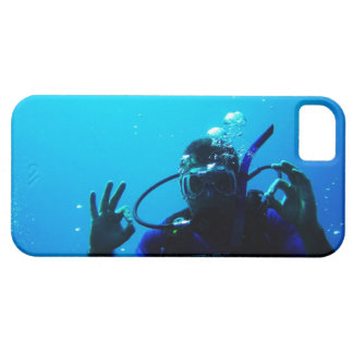 Daring Scuba Diver iPhone 5 Case