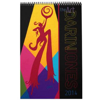 Darin's 2014 'Art of the Cirque' Calendar