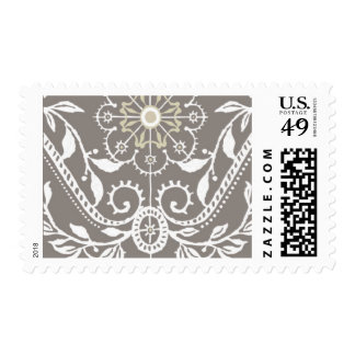 Darjeeling - Warm Gray, Linen and Fawn Stamp