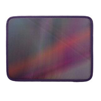 Dark abstract colors MacBook pro sleeve