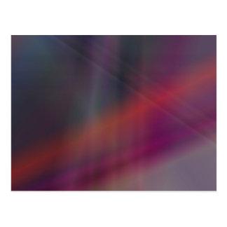 Dark abstract colors postcard